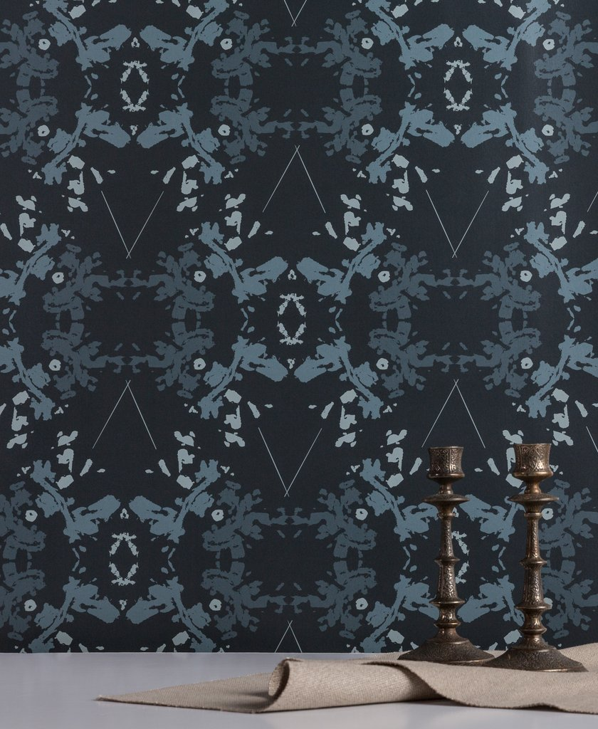 Blackish Magic Indigo wallpaper