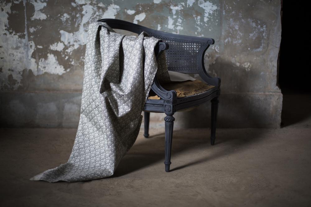 Deco Charcoal Linen