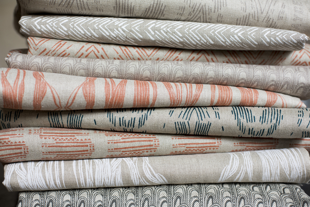 Fayce Textiles Linen Fabric Stack
