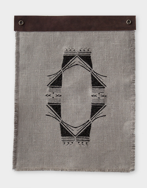 Relic 34 Embroidered Wall Hanging