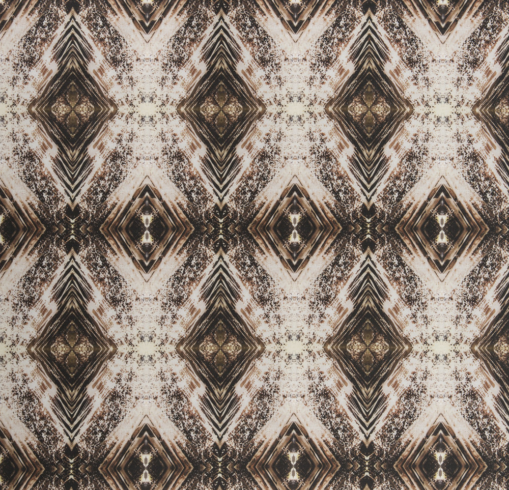 Aurora Bronze Fabric Repeat