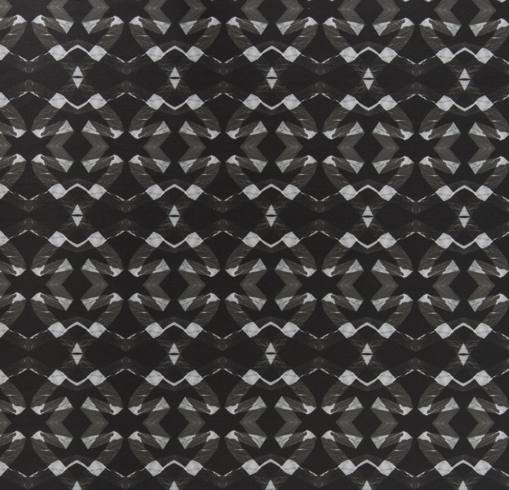 Lucina Black Fabric Repeat