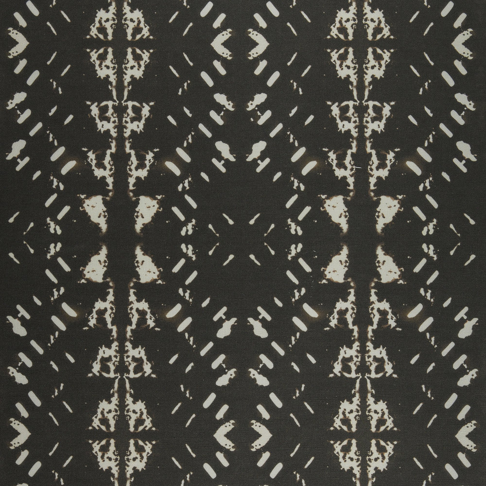 Native Embers Black Fabric Repeat