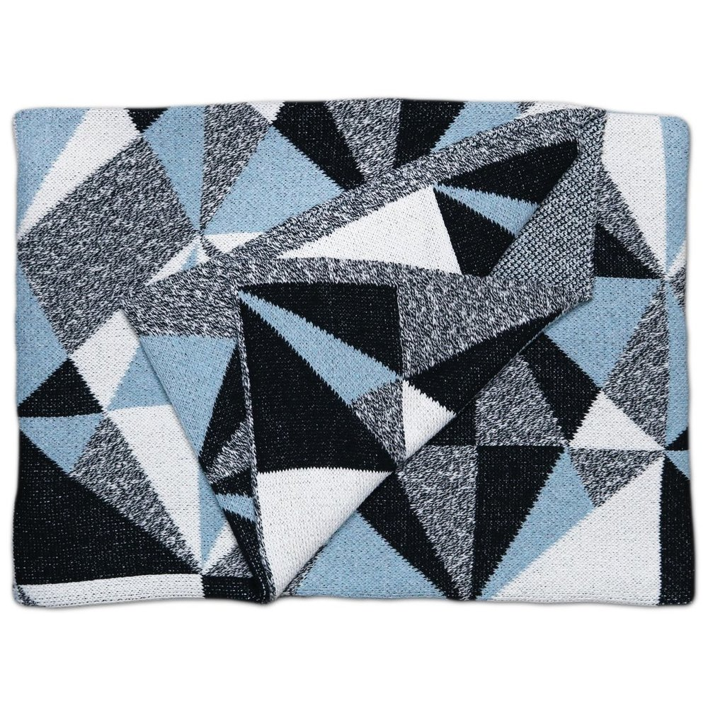 Odessa Storm Cotton Throw Blanket
