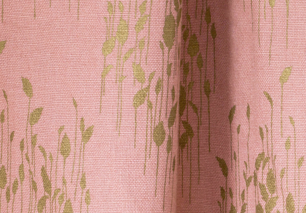 Phragmites Antique Rose Linen