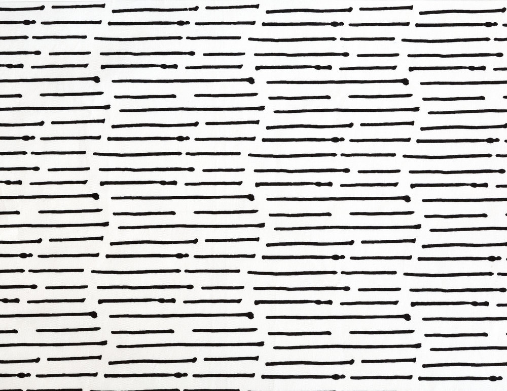 Ink Stripe Black