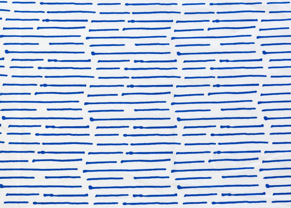 Ink Stripe Cobalt