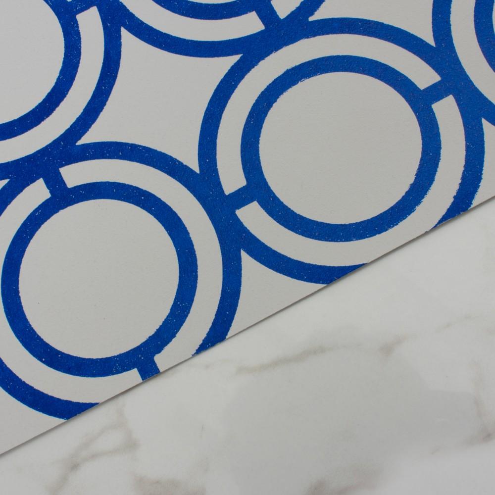 Palladian Loop - Navy Blue detail