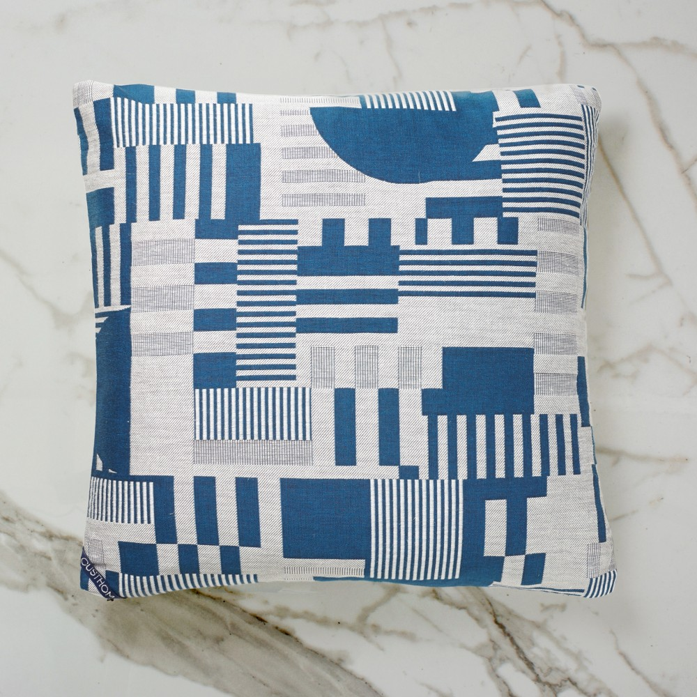 Hayward Woven Day Cushion - Blue