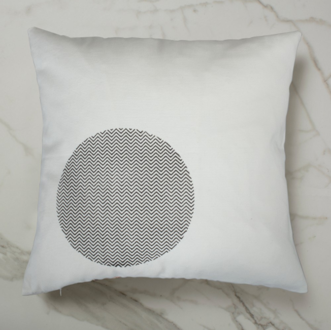 Curve Cushion - White Inside