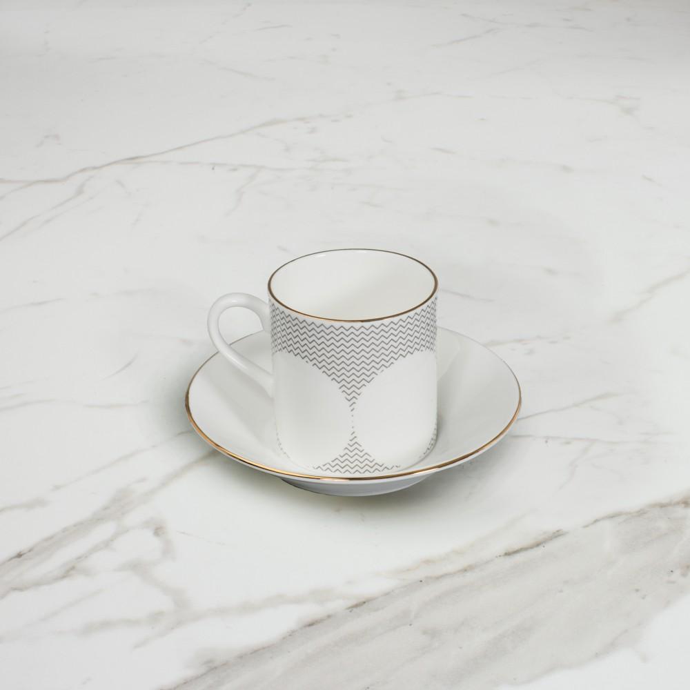 Curve Espresso Cup+Saucer No.2
