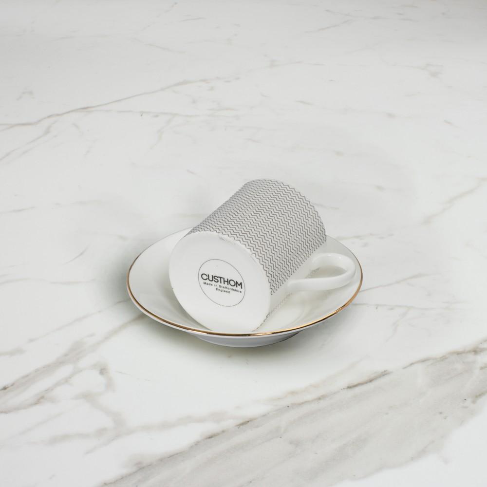 Curve Espresso Cup+Saucer No.3
