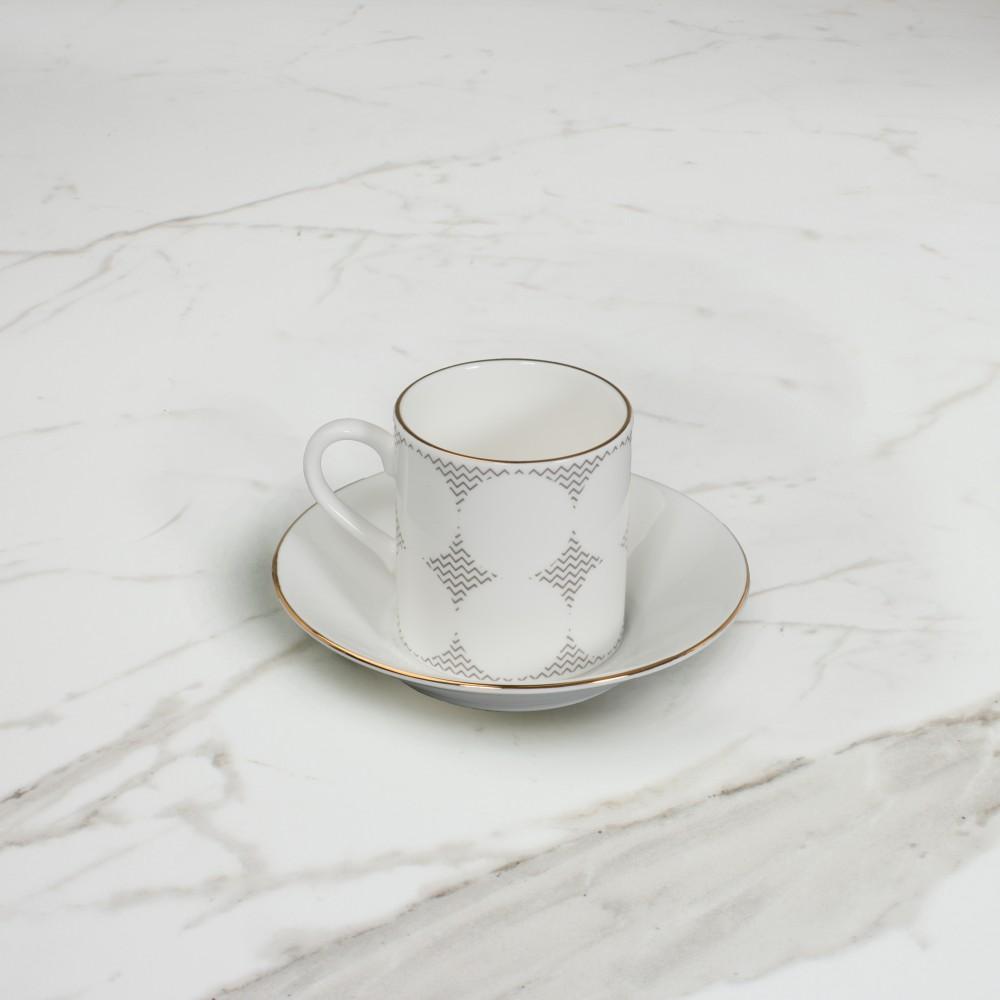 Curve Espresso Cup+Saucer No.4