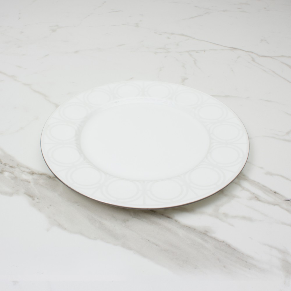 Palladian Side Plate - Brooklyn White