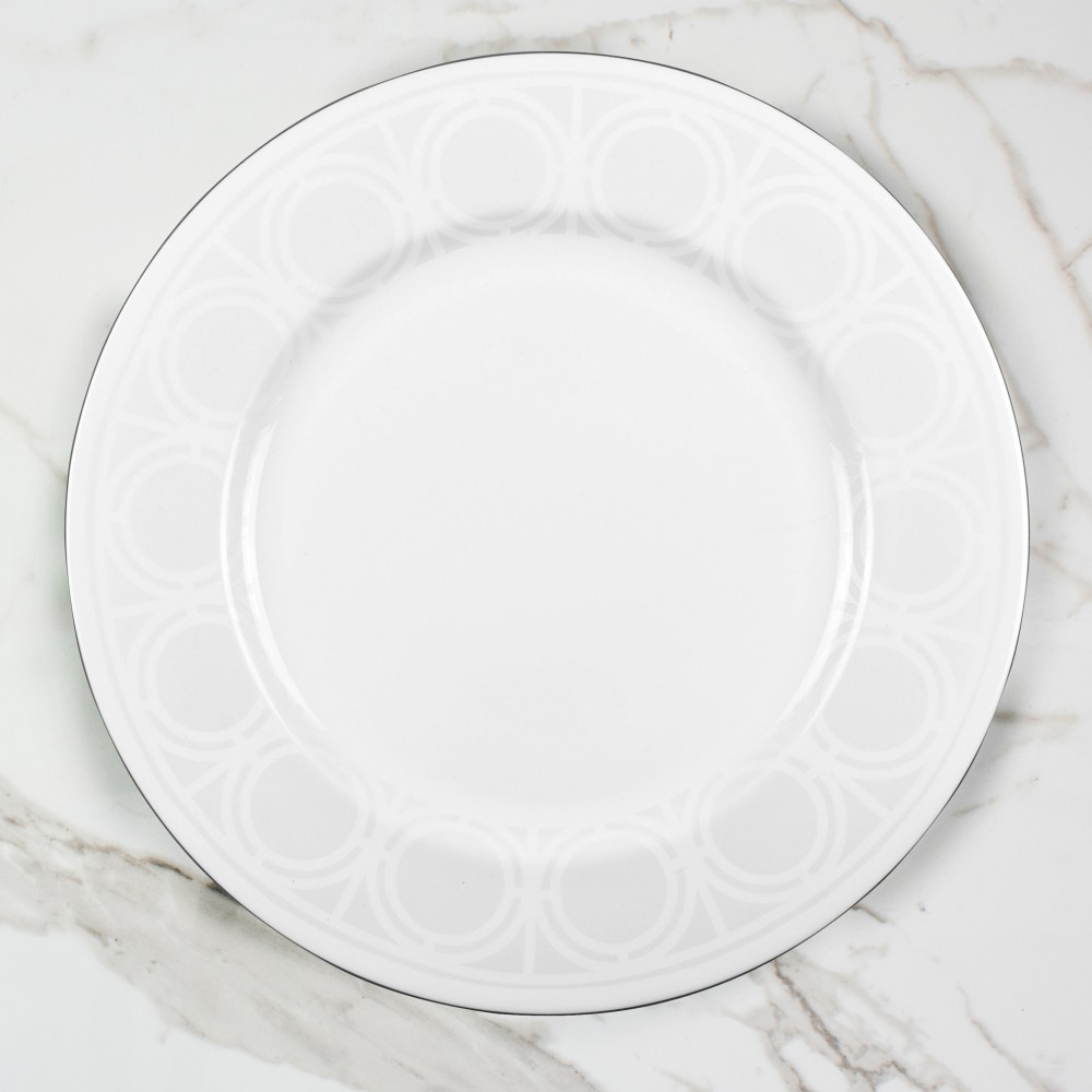 Palladian Serving Platter - Brooklyn White