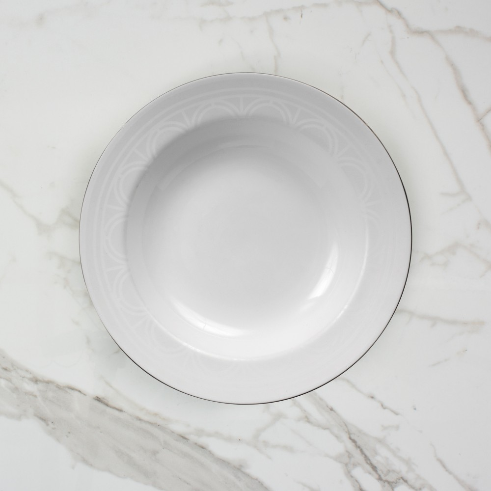 Palladian Soup Bowl - Brooklyn White