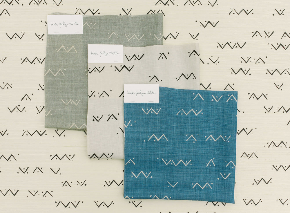 Loxo Onyx Grasscloth Wallpaper and Fabric