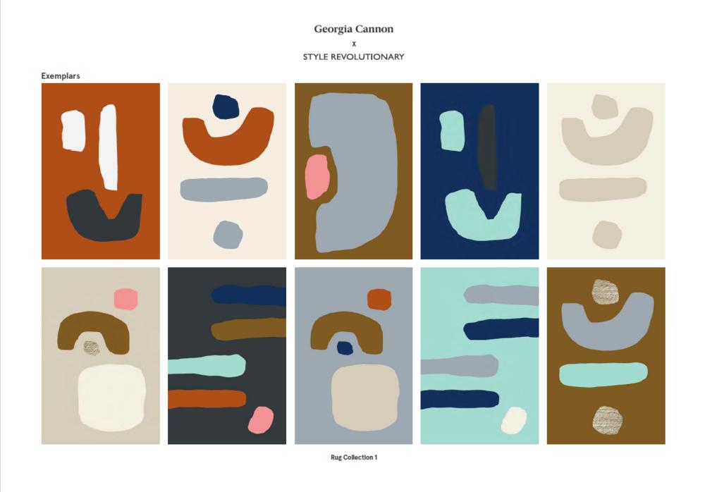 Custom Colour Rug Examples