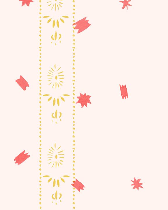 Stars detail - Lemon & Poppy on Paper
