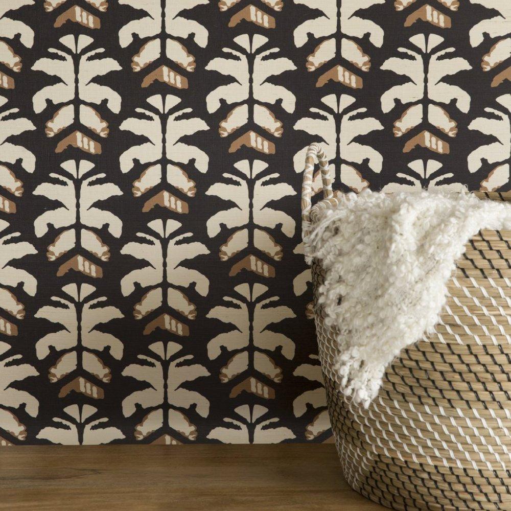 Wild Palms Grasscloth Lovina