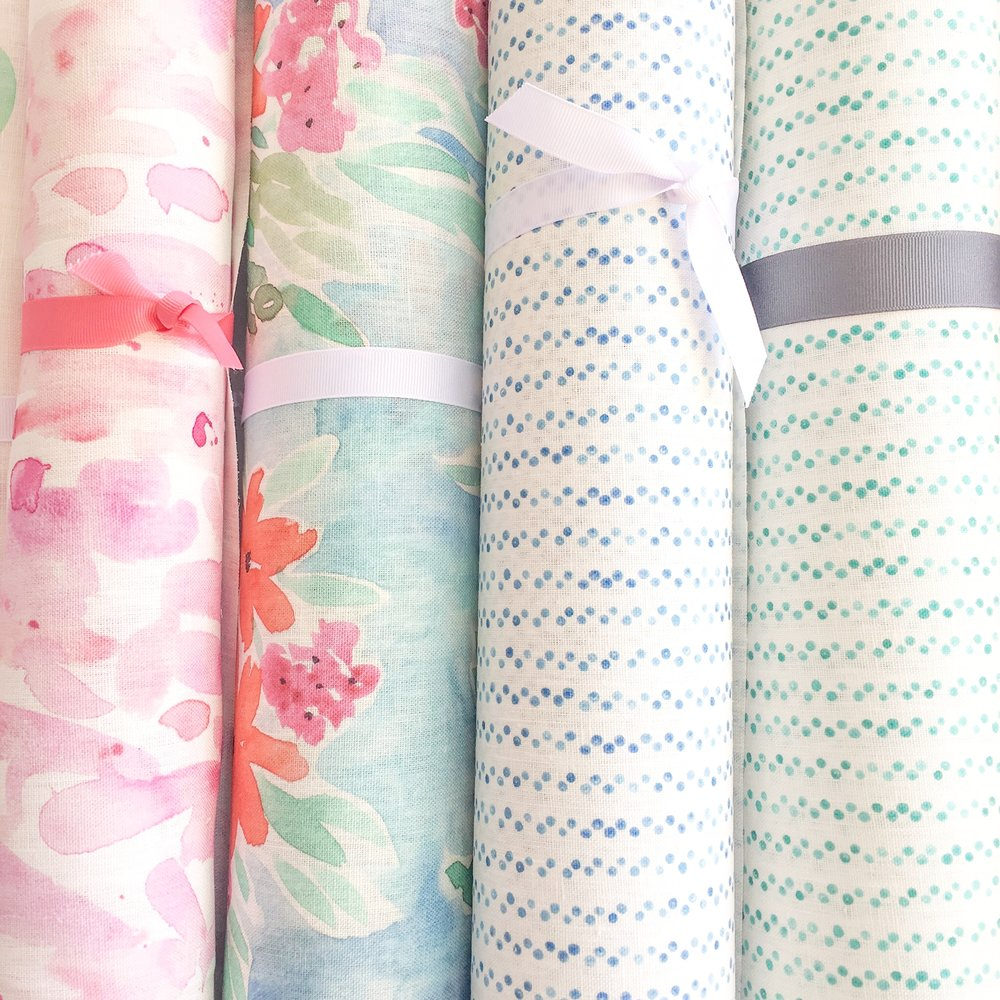 Juliet and Julien fabrics