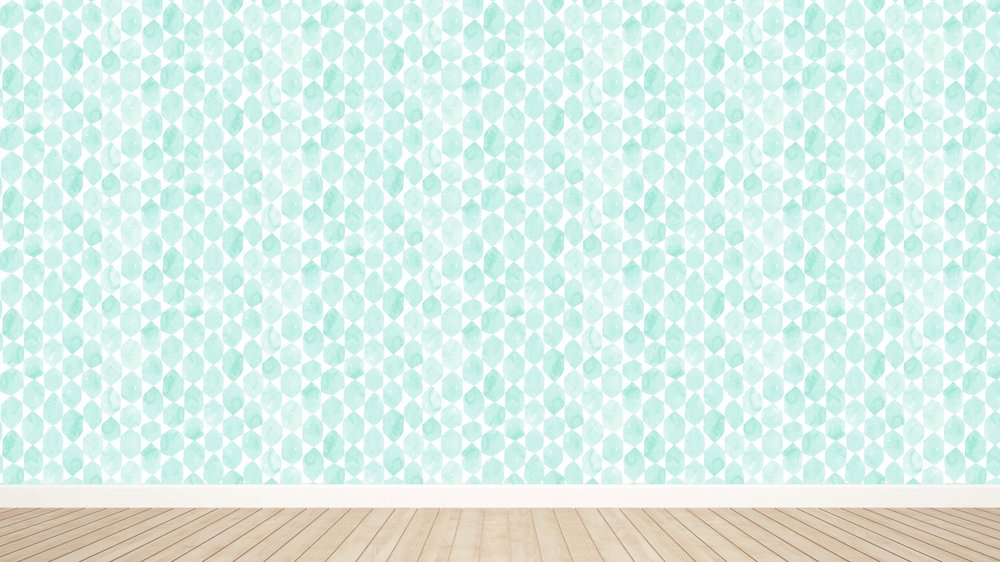 Marcel in Mint Wallpaper