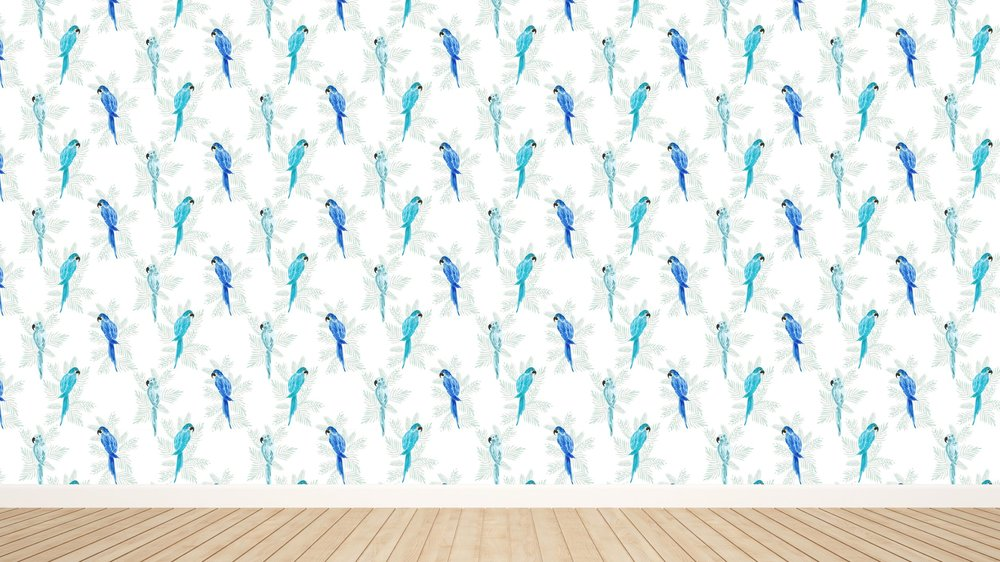 Polly in White Wallpaper