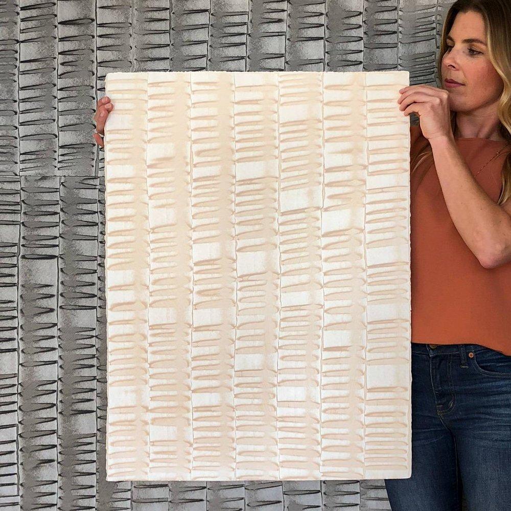 Hand-Painted Sheet Wallpaper