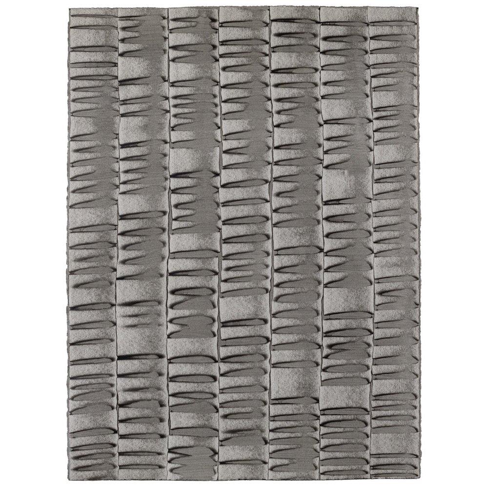 Low Tide - Smoke - Hand-Painted Sheet Wallpaper