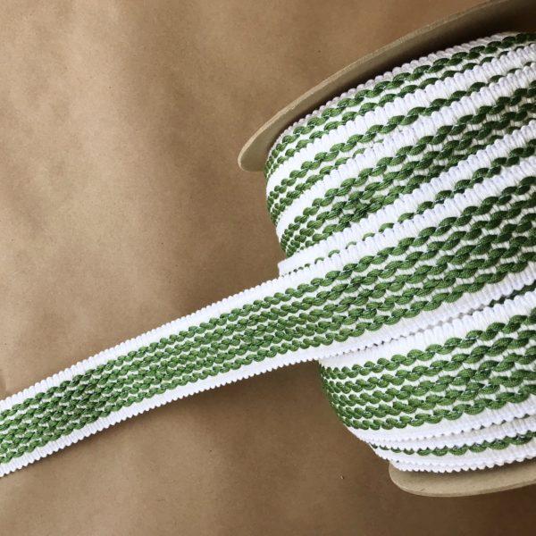 Fresh Green on White