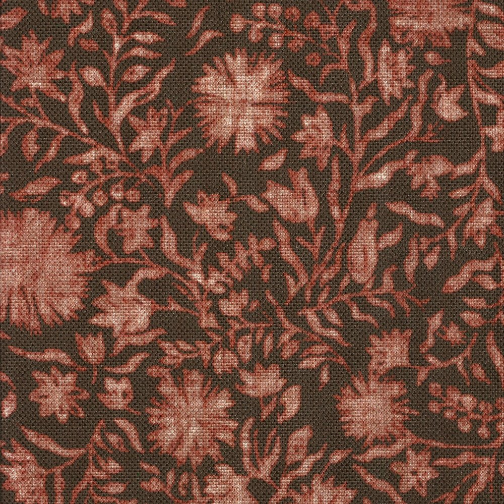 Madras Floral in Russet