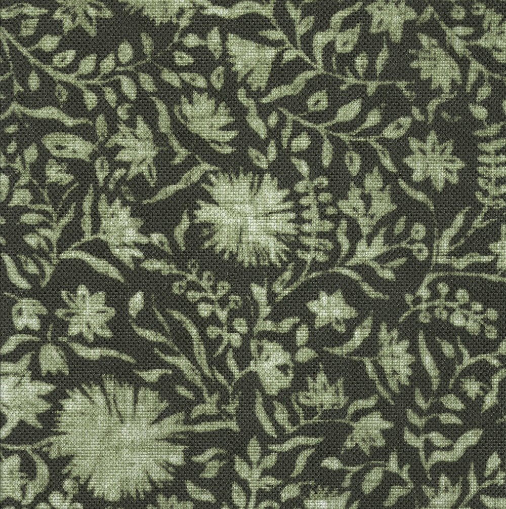 Madras Floral in Willow