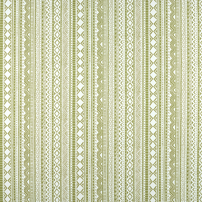 Kuba Cloth Green