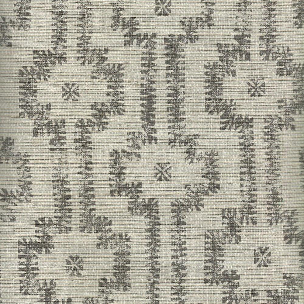 Shipibo Grasscloth Charcoal