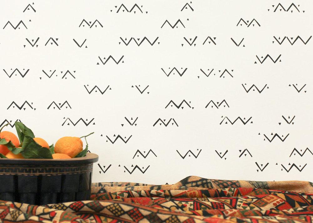 Loxo Onyx Vellum Wallpaper