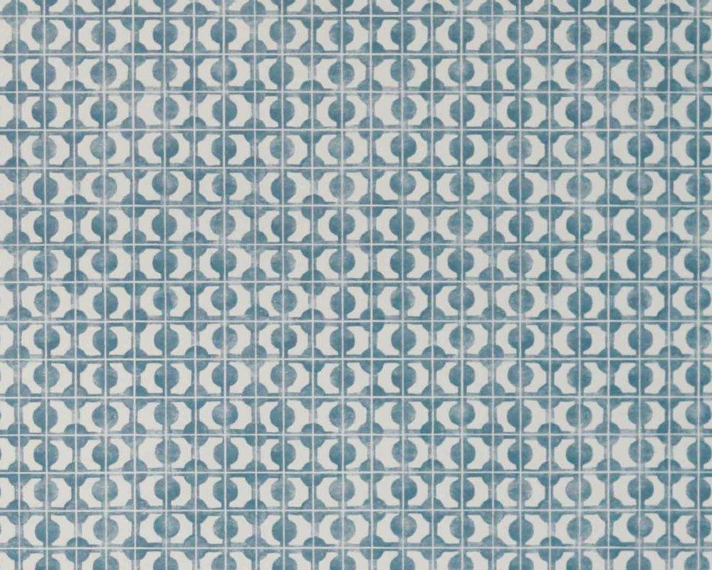 Seto Mini - Delft Blue Wallpaper detail