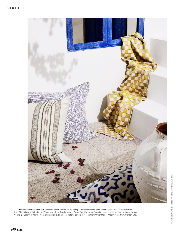 Image Centre: Cushion against wall - Alex Conroy - Irish Tile