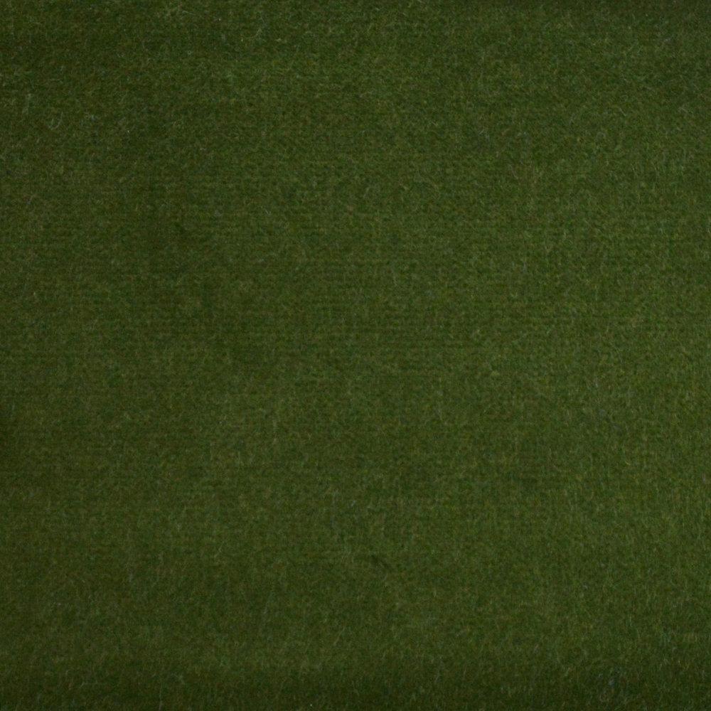 Olive Green Velvet
