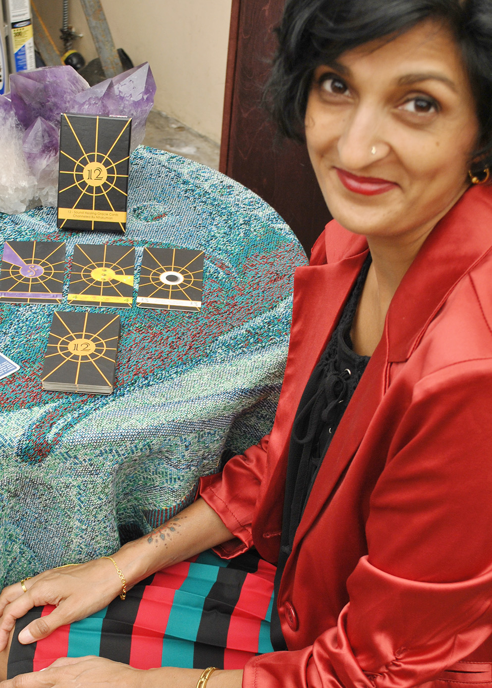 Channel/Palmistry/Oracle-Tarot Reader -