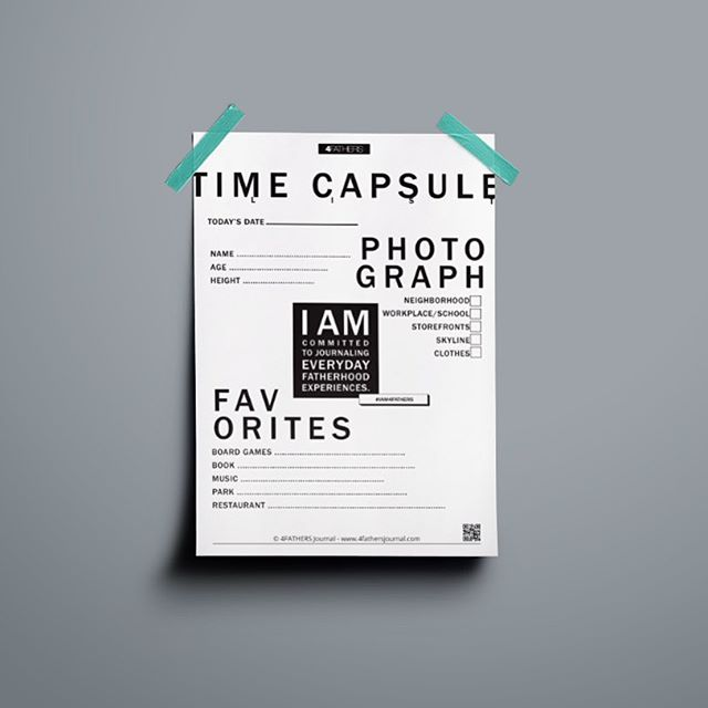 LINK IN BIO -------------------- How to Make a Yearly Time Capsule? ------------------------------------------------ A time capsule is a container that is filled with present day things, such as magazines, photos, letters, etc., that is then hidden away in a basement or buried in your backyard, for a time, and then opened by your future self, or someone of your choosing. A present for the future! ------------------------------------------------- 👉🏾 Print: Free Downloadable Time-capsule List (LINK IN BIO) #IAM4FATHERS#timecapsule#box#memories#tangiblegoods#letters#polaroids#family#history#dads#children#fatherhood#art#visuals
