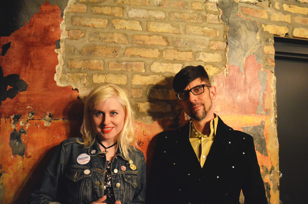 Paige Brubeck and Evan Sult of Sleepy Kitty.