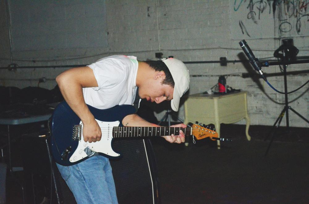 Justin Thomas of the band Party Crashing Bears