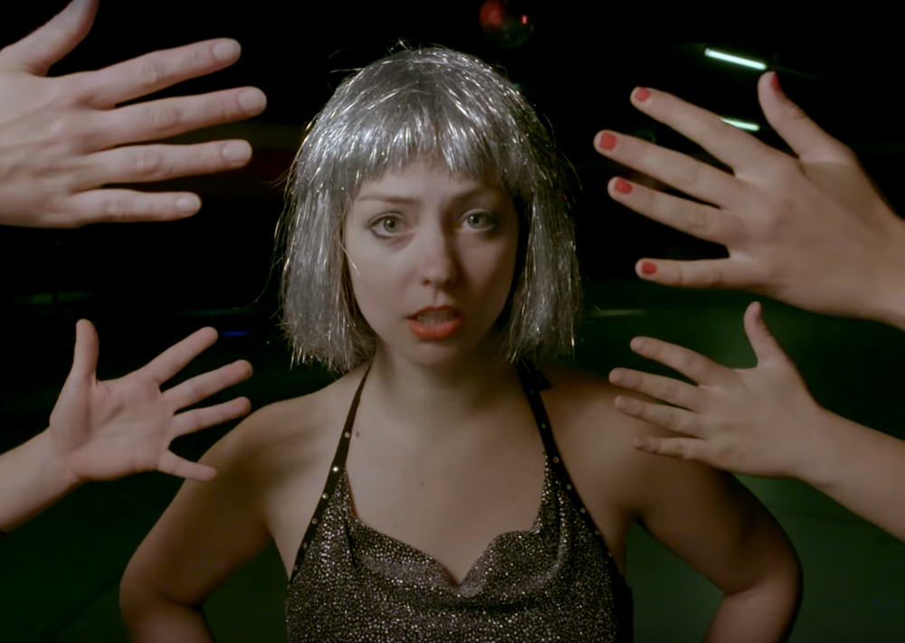 "Still from Angel Olsen's ""Shut Up Kiss Me"" music video, courtesy of theneedledrop.com"