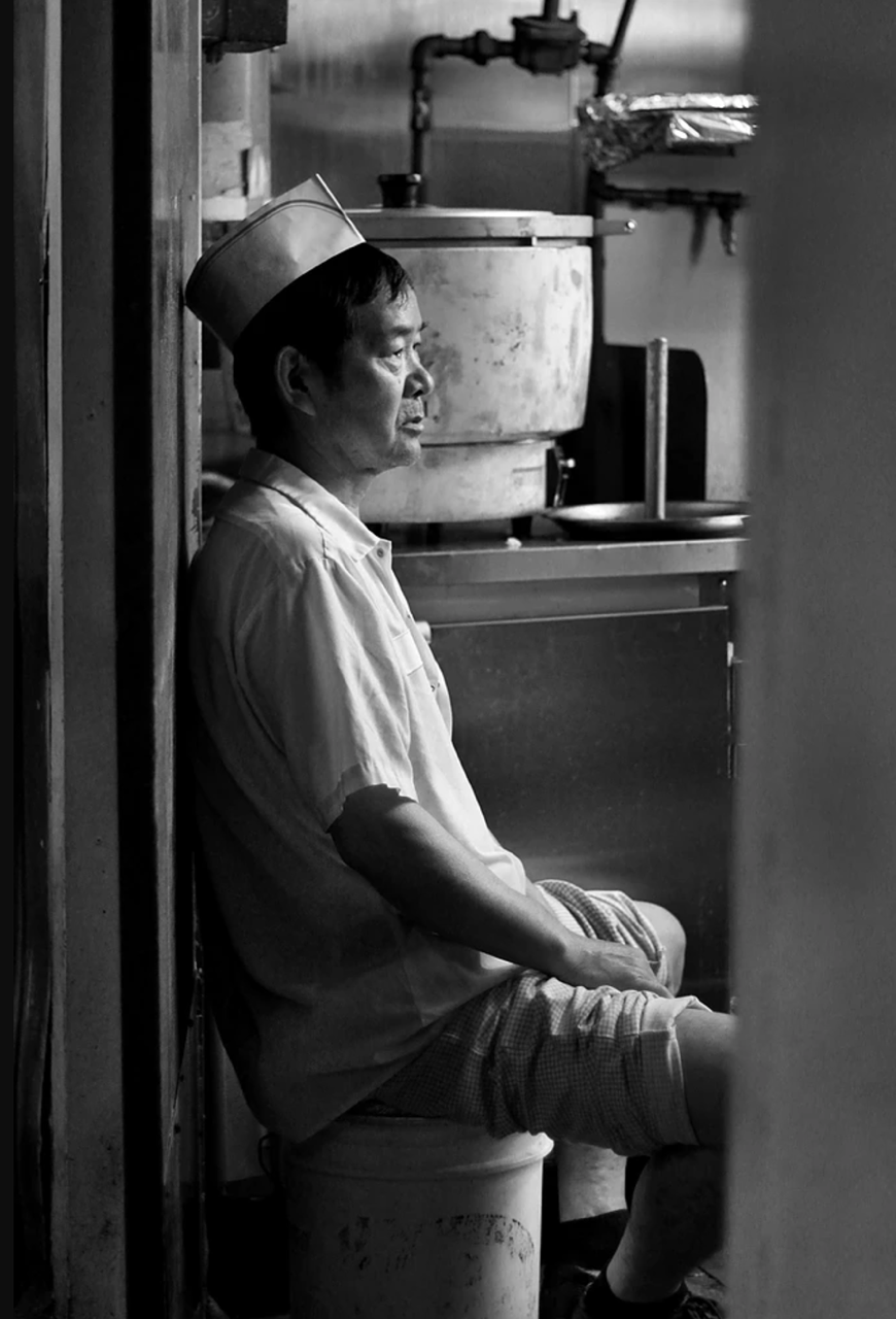 """The Chef.   """"Work can be hard. Sometimes you are stuck in a job that you don't like or were just stuck with but in due time, your hard work will pay off! Keep fighting and really reflect on the opportunities you have had and appreciate it in order to look forward to the opportunities you have ahead."""""""