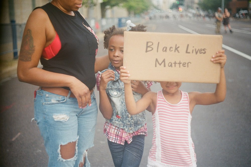 """""""There are a large number of children at any given protest –I think this is one of the most important things that parents can be doing,"""" said Sibic."""