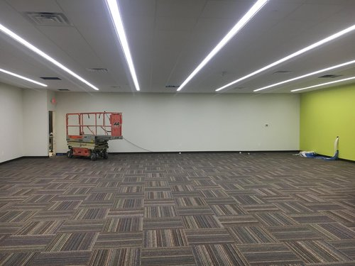 commercial interiors all in painting