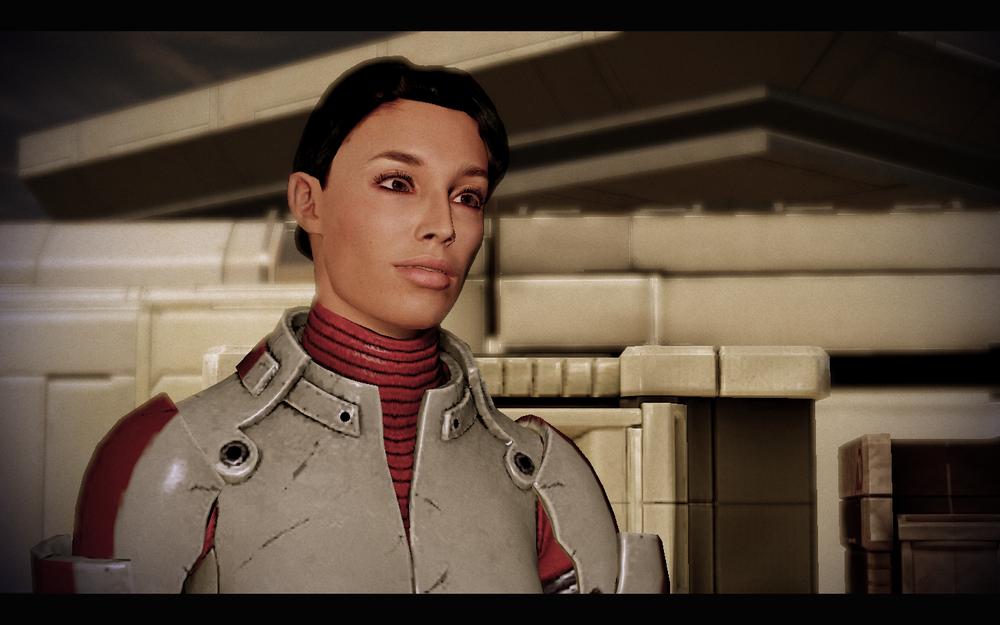 Screenshot do site Mass Effect.