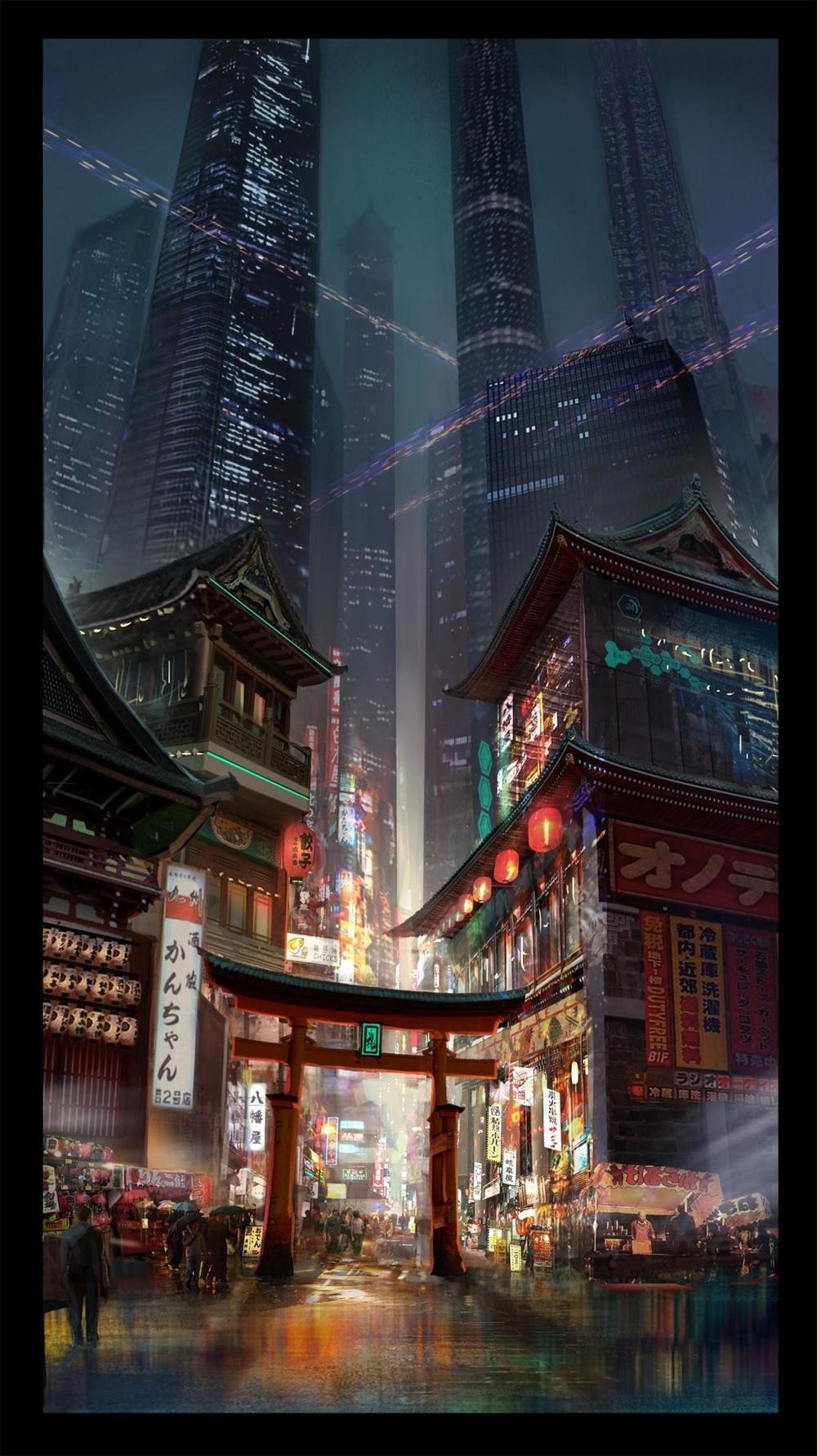 XINGHANG HU © 2016 #Cyberpunk #DeliDaPersy