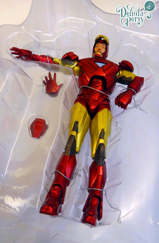 Exemplo do Action-Figure do Iron-man