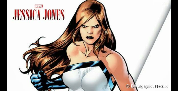 Jessica nos quadrinhos #Marvel #Netflix #JessicaJones #DeliDaPersy #Herois
